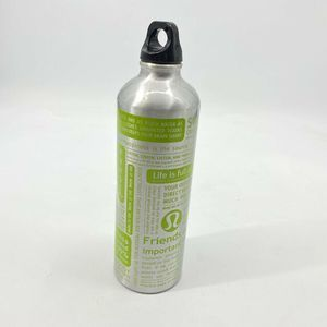 Lululemon Aluminum Water Bottle Yoga Manifesto
